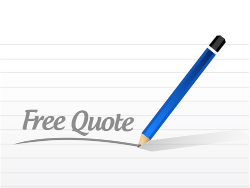 Free Quote Message Illustration Design Over A White Background