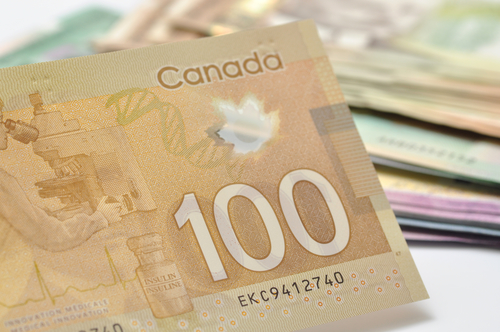 New Canadian Plastic 100 Dollar