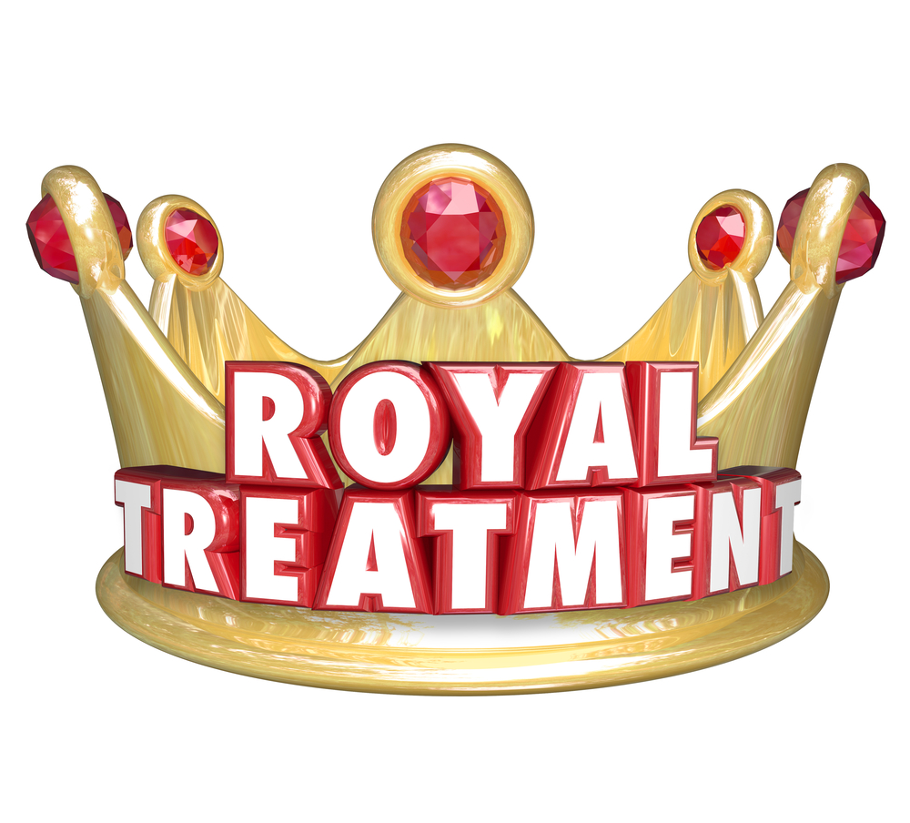 The Importance Of Giving Clients The Royal Treatment