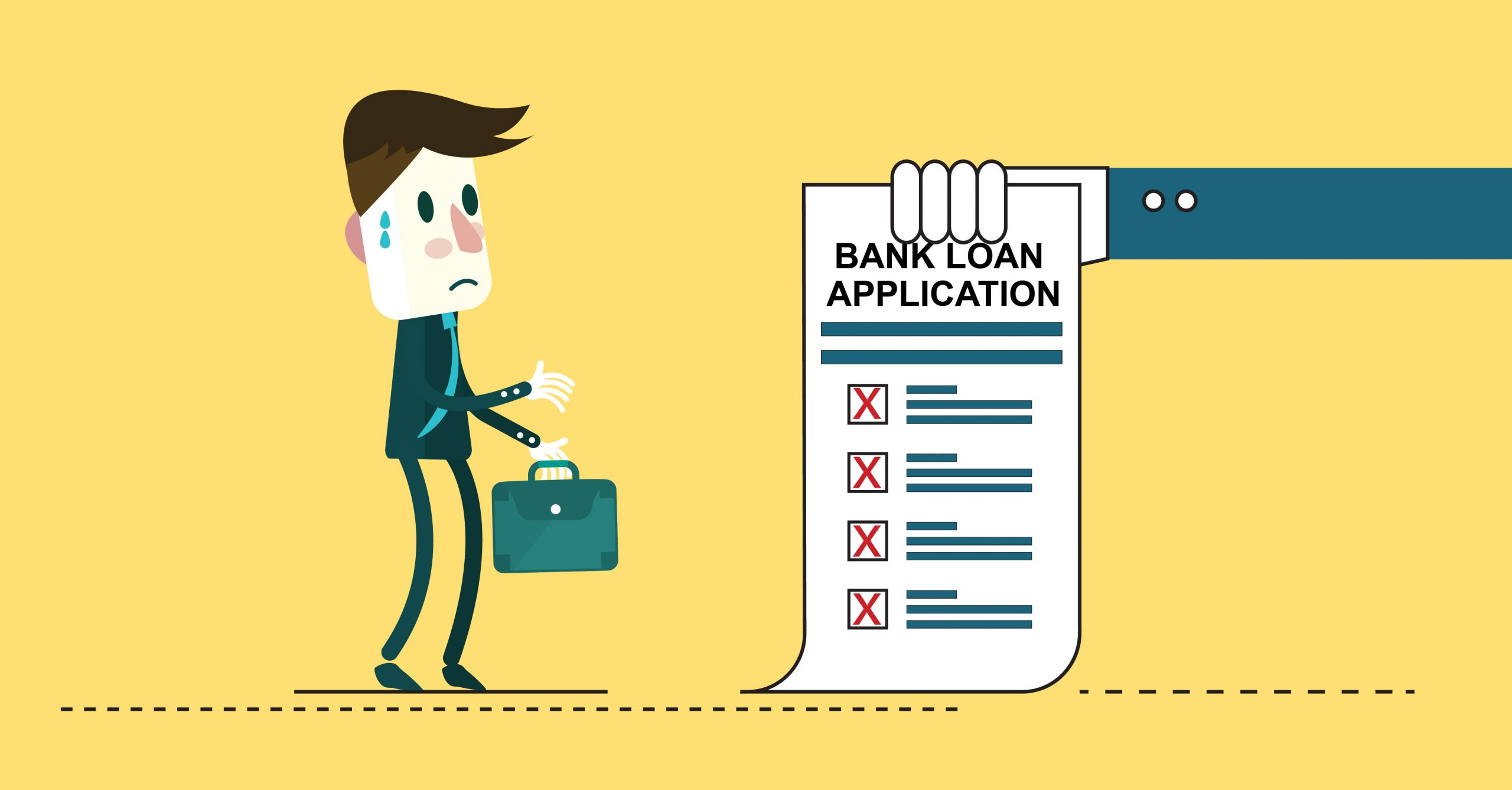 Your Bank Has Rejected Your Loan Application, Now What?